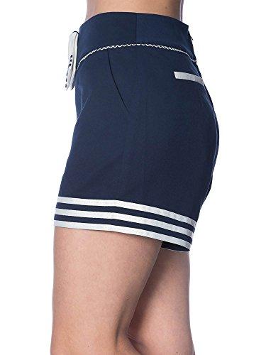 Dancing Days by Banned Shorts SET SAIL 1853 Navy