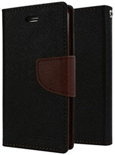 RJR Mercury Goospery Wallet Style Flip Back Case Cover For Sony Xperia C S39H/C2305-Black&Brown  available at amazon for Rs.244