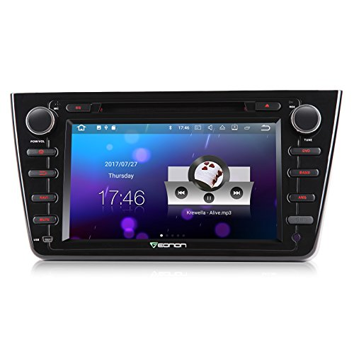 Auto-flip-out-dvd-cd-player (Eonon GA8198 Autoradio 8 Zoll Android 7.1 Doppel-Din-Auto-Stereo-DVD-GPS-Navigation für Mazda 6 2009-2012 CD-DVD-Player Unterstützung Sat-Nav Bluetooth Radio DAB + WIFI AV-OUT-Subwoofer Touchscreen-Kopf-Einheit von Eonon)