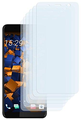 mumbi Schutzfolie kompatibel mit HTC U11 Plus Folie klar, Bildschirmschutzfolie (6x)