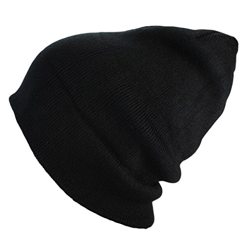 Alex Flittner Designs Bonnet homme d'hiver basic flap en/Bonnet long XXL