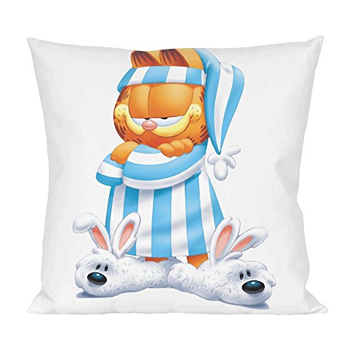 Garfield In Pajama Pillow (Garfield Kissen)