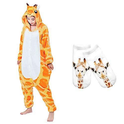 Mescara Pigiama Animali Cosplay Intero Unisex Costume Halloween Carnevale Festa Donna Uomo Animale Sleepwear