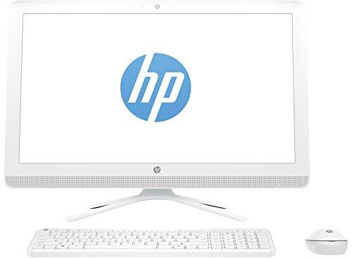 HP HP 22-B005NS - Ordenador de sobremesa All-in-One DE 21.5' (Intel Celeron 1.6 GHz, RAM de 4 GB, Windows 10 Home) Color Blanco Nieve