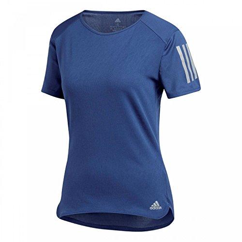 adidas Damen RS SS TEE W Kurzarm T-shirt, Blau (Noble Indigo), XS