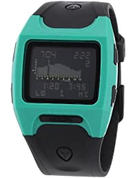 Nixon A5301060-00 - Reloj digital de cuarzo para hombre con correa de plástico, color negro