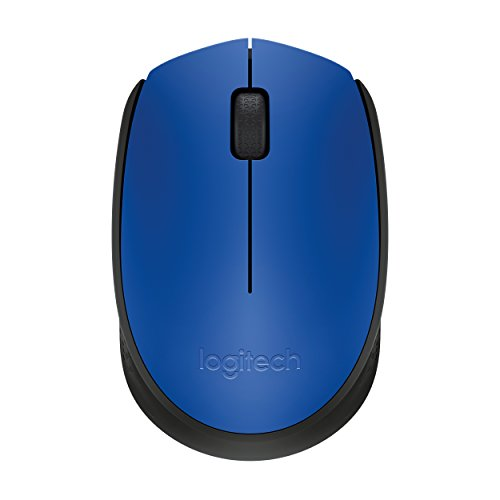 Logitech M171 Wireless Maus (2,4-GHz-Technologie) blau -