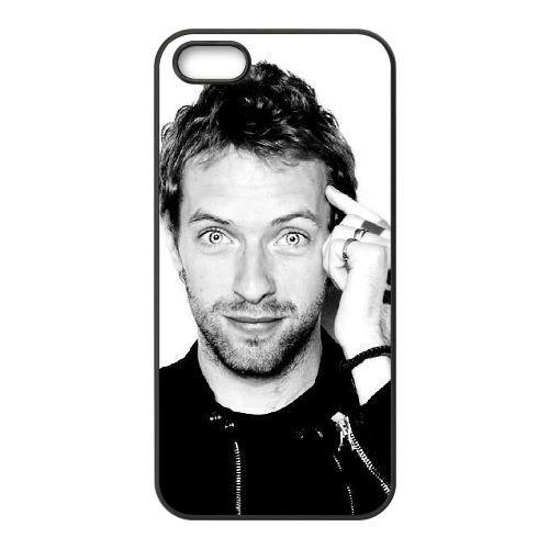 Coldplay coque iPhone 5 5S Housse téléphone Noir de couverture de cas coque EBDXJKNBO17256