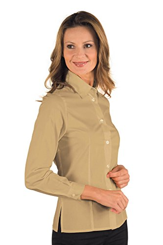 Isacco - Chemise Femme Manches Longues Kyoto Biscuit Beige
