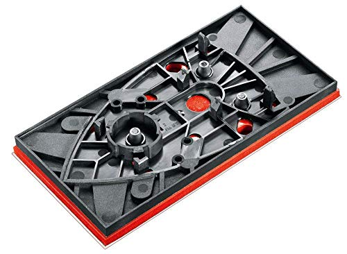Bosch Genuine Replacement Rectangular Sander Plate (To Fit: Bosch PSM 200 AES Sander) c/w STANLEY KeyTape + Cadbury Chocolate Bar by Bosch