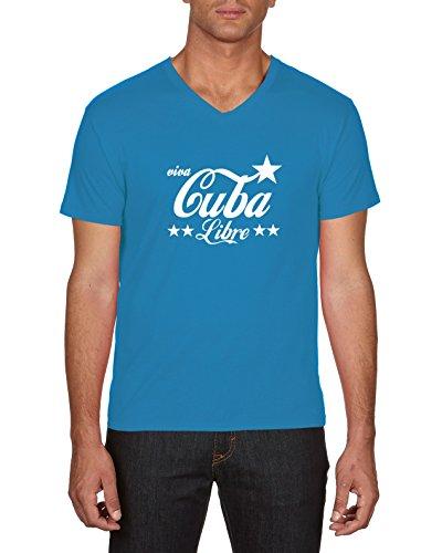 Touchlines Herren T-Shirts Cuba Libre Blau (Azur 49), X-Large Preisvergleich