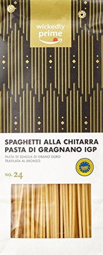 Amazon Brand - Wickedly Prime - Spaghetti alla Chitarra Pasta di Gragnano IGP, 500gx6
