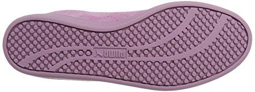 Puma Smash Perfsd, Baskets Basses Pour Femmes Violet (raisin Fumé Et Fumé)