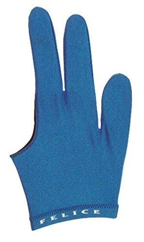 "Billard-Handschuh ""FELICE"", blau, beidhändig"