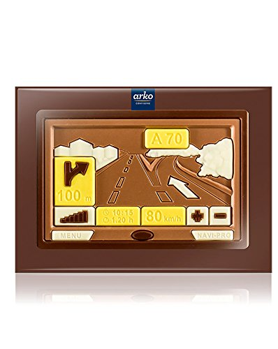 Arko Schoko-Navigationsgerät, Edelvollmilch-Schokolade, 85 G