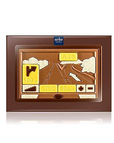 Preisvergleich Produktbild Arko Schoko-Navigationsgerät,  Edelvollmilch-Schokolade,  85 G