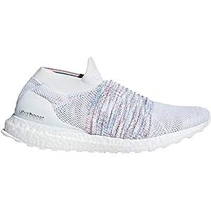 adidas Ultraboost Laceless, Zapatillas de Running para Hombre, Blanco FTWR White Red/Active Green, 45 EU