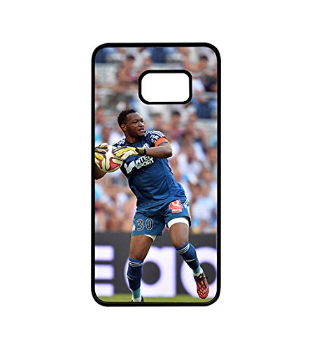 Galaxy S6 Edge Plus Coque Case Football Player Steve Mandanda Snap On Customized Back Coque Case Compatible with Samsung Galaxy S6 Edge Plus (Not for S6 / S6 Edge)
