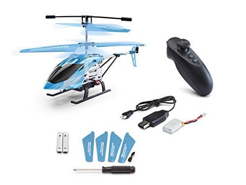 415 udPE3tL - Revell Control 01021 Adventskalender RC Helikopter mit Motion-Control, 2.4 GHz, LED-Beleuchtung, Gyro, inkl. Batterien in 24 Tagen zum selbstgebauten, ferngesteuerten Hubschrauber, ab 12 Jahren, 18 cm