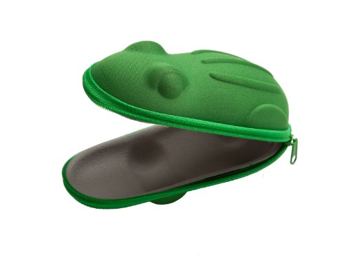 Accessories Green Frog Sunglasses Case
