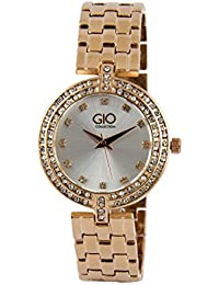 Gio Collection Analog (ROSE GOLD) Dial Women's Watch - FG2003-33