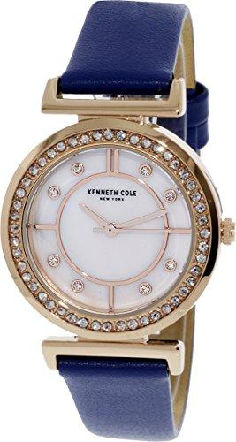 Kenneth Cole KC50322006 Gold Leather Japanese Quartz Fashion Watch