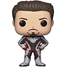 Funko Avengers End Game (Infinity War 2) - Tony Stark in Team Suit Pop Bobblehead Figure
