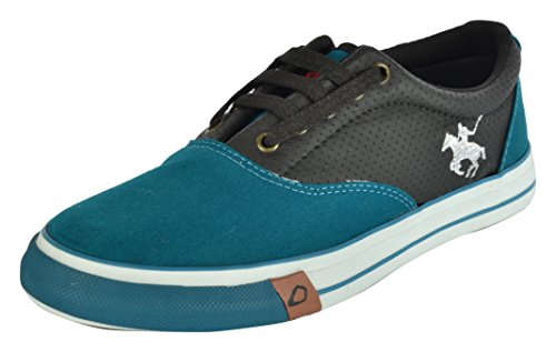 COKPIT Men's Green and Black Sneakers