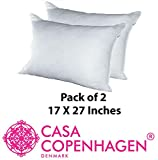 Casa CopenhagenEdition 2019 02 Pack Pillows Fillers/Inserts (17 x 27 inches) ... ..