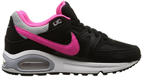 Nike Sneaker Air Max Command (Gs) mehrfarbig (Black/Pink Pow-Wolf Grey-White)