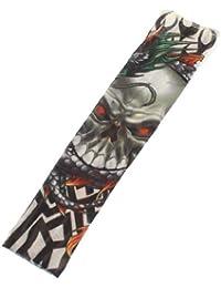 Diablo Diseño Elástico Tatuaje Temporal Funda Brazo Media para niño