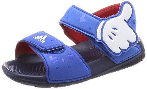 adidas Unisex Baby DY M&M Altaswim Sandalen, Blau (Blue/Ftwwht/Conavy), 26 EU