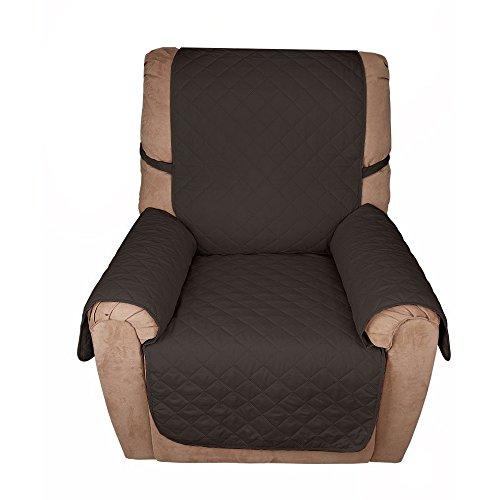 Starsglowing Sofa-Überwürfe Sofaüberwurf Sesselschoner 53cm*183cm 1-Sitzer Sesselschutz Haustier sofakissen Schwarz (53cm*183cm 1-Sitzer)