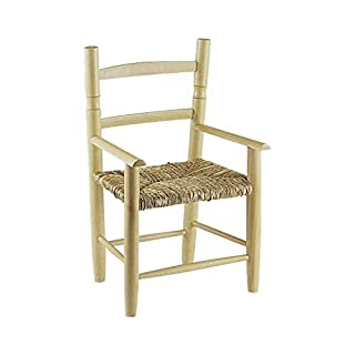 Aubry Gaspard NFE Chair Natural Beech Bleached 1240