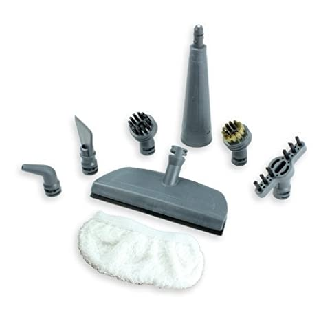 First4spares Brush Nozzle and Window Cleaning Pad Tool Accessory Pack for VAX Steam Cleaners