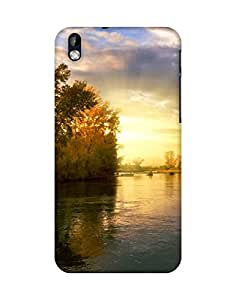 Mobifry Back case cover for HTC Desire 816 Mobile ( Printed design)