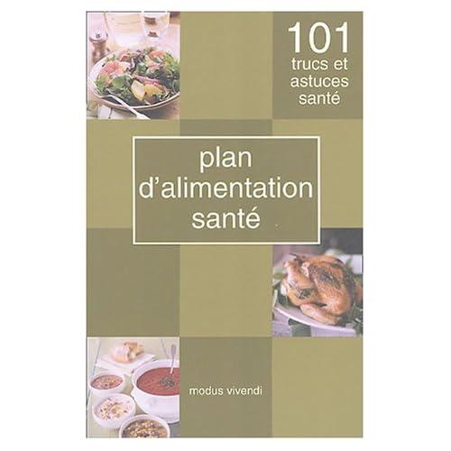 Plan d'alimentation santé