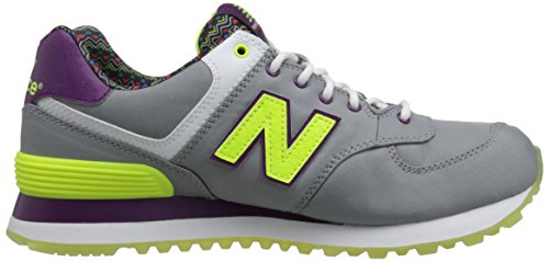 New Balance Womens Classics Traditionnels Textile Trainers Grey