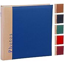 Henzo álbum Chapter–para hasta 400fotos 10x 15–30x 30cm heimtexland–100páginas–Selección de color rojo, azul, negro, marrón, verde o rojo oscuro