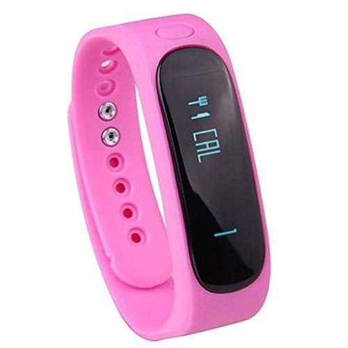 Happy- little -bear Portable Ejercicios creativos Impermeables Running Podómetro Sleep Health Monitoring Bluetooth Pulsera Inteligente