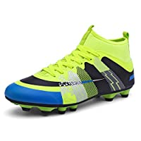 STEELEMENT Football Boots Competition/Training Shoes Kids Adults Outdoor Professional Soccer Boots