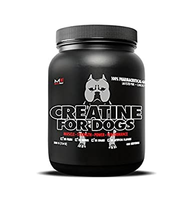 Muscle Bully creatine for Bully and Working dogs 400 Servings from Muscle Bully