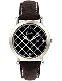 Cavalli Black Dial Analog Watch- For Women