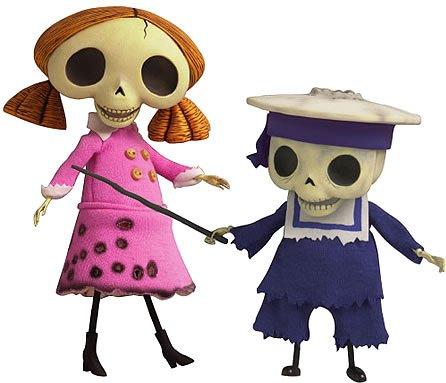 Skeleton Kostüm Bride Corpse - Corpse Bride Puppe Sammlung Skeleton Girl & Kleinkinderskelett Menge Y-243 (Japan-Import)