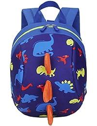 Deloito Rucksack Baby Jungen Mädchen Kinder Dinosaurier-Muster Tiere Rucksack Kleinkind Schultasche
