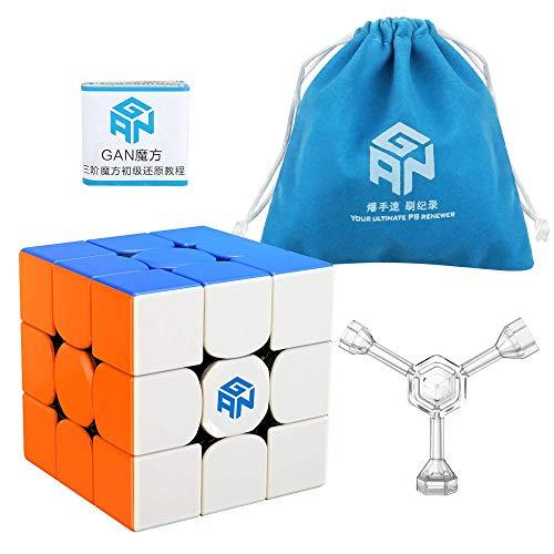 Generous New Original Gan356 X 3x3x3 Magnet Gans 3x3x3 Ipg V5 Numerical Ipg Professional Gan 356 X 3x3 Magic Speed Cube Educational Toys Tool Bags