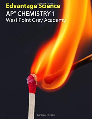 AP Chemistry 1: West Point Grey Academy, gebraucht gebraucht kaufen  Wird an jeden Ort in Deutschland