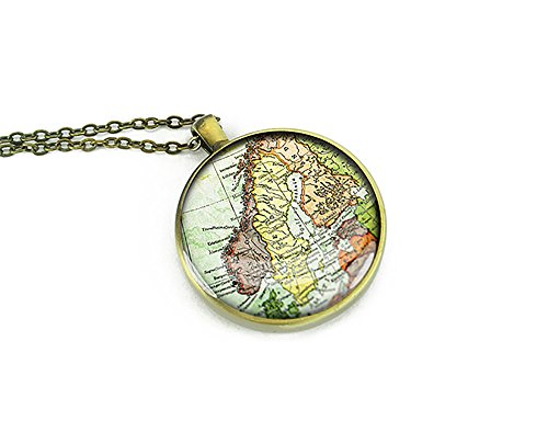 1938-vintage-sweden-vintage-map-necklace-bronze-silver-pendant-best-christmas-gift