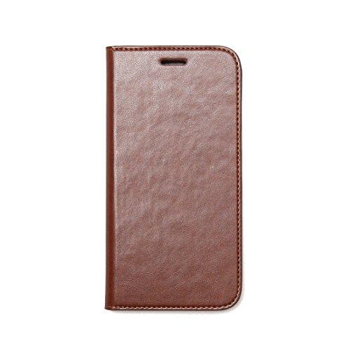 Zenus Basic Diary für Samsung Galaxy S7 in braun [Weiches Kunstleder   Bookstyle   Kreditkartenfächer] - ZA600041