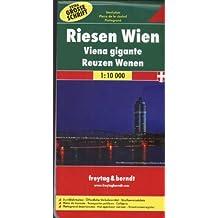 Riesenstadtplan Wien 1 : 10.000, mit extra großer Schrift. Mit öffentlichen Verkehrsmitteln und Straßenverzeichnis (Freytag u. Berndt Stadtpläne/Autokarten)
